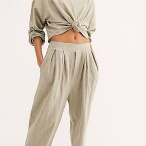 Free People Culver City Sweat Pant Small